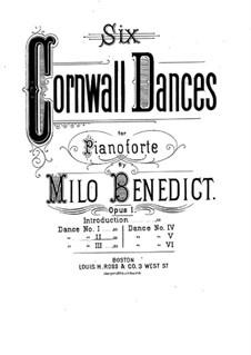 Six Cornwall Dances, Op.1: eletronica No 2 by Milo Ellsworth Benedict