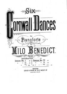 Six Cornwall Dances, Op.1: eletronica No.4 by Milo Ellsworth Benedict