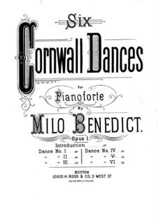 Six Cornwall Dances, Op.1: Dance No.5 by Milo Ellsworth Benedict