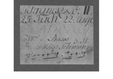 Trio Sonata for Two Violins and Basso Continuo in A Major, TWV 42:A8: Trio Sonata for Two Violins and Basso Continuo in A Major by Georg Philipp Telemann