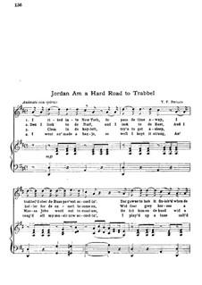 Jordan Am a Hard Road to Travel: Jordan Am a Hard Road to Travel by T. F. Briggs