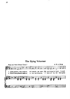 The Dying Volunteer: The Dying Volunteer by A. E. A. Muse