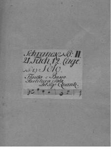 Sonata for Flute and Basso Continuo, QV 1:86: soneto para flauta e fagote continuo by Johann Joachim Quantz