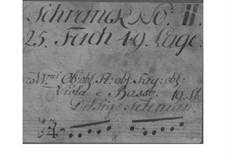 Sinfonia in E Minor, TWV 50:e5: Sinfonia in E Minor by Georg Philipp Telemann