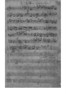 Concerto for Violin, Strings and Basso Continuo in C Major, TWV 51:C2: Concerto for Violin, Strings and Basso Continuo in C Major by Georg Philipp Telemann