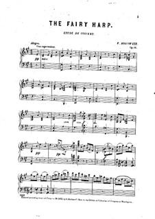 The Fairy Harp. Concert Etude, Op.84: The Fairy Harp. Concert Etude by F. Boscovitz