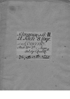 Concerto for Flute and Orchestra No.144, QV 5:45: Concerto for Flute and Orchestra No.144 by Johann Joachim Quantz