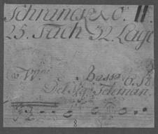 Trio Sonata for Two Violins and Basso Continuo, TWV 42:D13: Trio Sonata para dois violinos e baixo contínuo by Georg Philipp Telemann