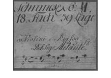 Trio Sonata for Two Violins and Basso Continuo in D Major, TWV 42:D14: Trio Sonata for Two Violins and Basso Continuo in D Major by Georg Philipp Telemann