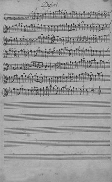 Trio Sonata for Two Violins and Basso Continuo in D Major, TWV 42:D16: Partes by Georg Philipp Telemann