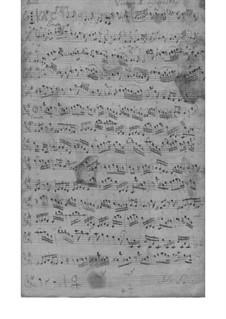 Trio Sonata for Two Violins and Basso Continuo, TWV 42:d6: Trio Sonata para dois violinos e baixo contínuo by Georg Philipp Telemann