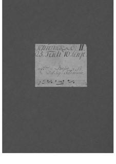 Trio Sonata for Two Violins and Basso Continuo, TWV 42:d8: Trio Sonata para dois violinos e baixo contínuo by Georg Philipp Telemann