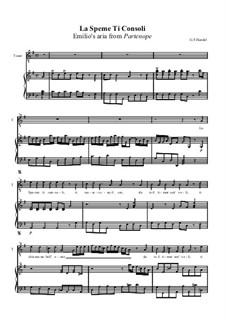 Partenope, HWV 27: La speme ti consoli by Georg Friedrich Händel