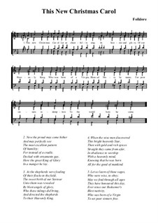 This New Christmas Carol: This New Christmas Carol by folklore
