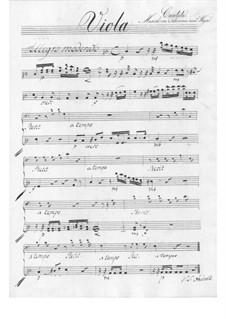 The Schoolmaster. Cantata, TWV 20:57: parte violas by Georg Philipp Telemann