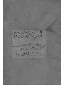 Concerto for Oboe, Strings and Basso Continuo in F Minor, TWV 51:f2: Concerto for Oboe, Strings and Basso Continuo in F Minor by Georg Philipp Telemann