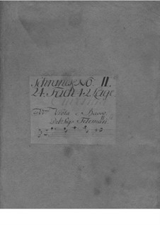 Suite in G Minor, TWV 55:g7: Suite em G Menor by Georg Philipp Telemann