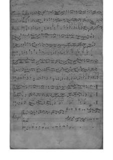 Trio Sonata for Violin, Flute and Basso Continuo in E Minor, TWV 42:e1: Partitura completa by Georg Philipp Telemann