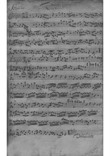 Trio Sonata for Violin, Flute and Basso Continuo in E Minor, TWV 42:e1: Partes by Georg Philipp Telemann
