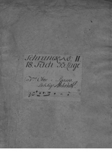 Trio Sonata for Violin, Oboe and Basso Continuo, TWV 42:F12: Trio Sonata for Violin, Oboe and Basso Continuo by Georg Philipp Telemann