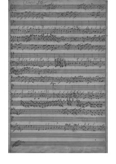 Concerto for Violin, Strings and Basso Continuo in G Major, TWV 51:G6: Partitura completa by Georg Philipp Telemann