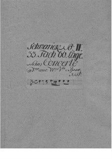 Concerto for Two Violins, Strings and Basso Continuo, TWV 52:g2: Concerto for Two Violins, Strings and Basso Continuo by Georg Philipp Telemann