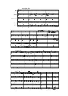 Woodwind Quintet in F Minor, Op.99 No.2: Movimento IV by Anton Reicha