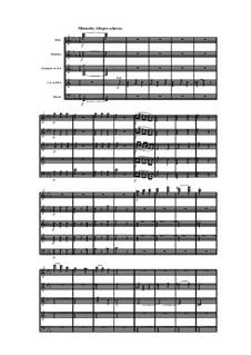 Woodwind Quintet in E Flat Major, Op.100 No.3: movimento III by Anton Reicha