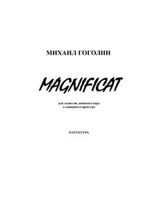 Magnificat: partitura completa by Mikhail Gogolin