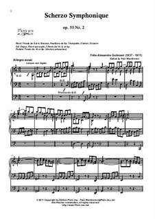 Scherzo Symphonique, Op.55 No.2: Scherzo Symphonique by Alexandre Guilmant