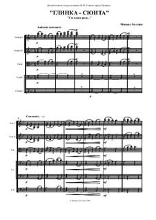 Glinka - suite: para orquetra de cordas by Mikhail Gogolin