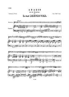 Adagio for Mandolin and Harpsichord, WoO 43b: Adagio for Mandolin and Harpsichord by Ludwig van Beethoven
