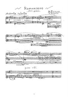 Romancero: Para Piano by Mikhail Gogolin