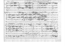 The Schoolmaster. Cantata, TWV 20:57: partitura completa by Georg Philipp Telemann