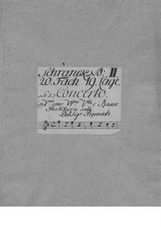 Concerto Grosso No.5: Concerto Grosso No.5 by Johann Christoph Pepusch
