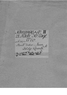 Trio Sonata for Violin, Flute and Basso Continuo in D Major, QV 2:14: Trio Sonata for Violin, Flute and Basso Continuo in D Major by Johann Joachim Quantz