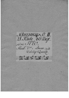 Trio Sonata for Violin, Flute and Basso Continuo in G Major, QV 2:28: Trio Sonata for Violin, Flute and Basso Continuo in G Major by Johann Joachim Quantz