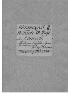 Concerto Grosso in F Major, SeiH 233 Hwv I:20: Concerto Grosso in F Major by Johann David Heinichen