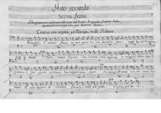 Catone in Utica: Ato II by Leonardo Vinci