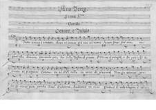 Catone in Utica: Ato III by Leonardo Vinci