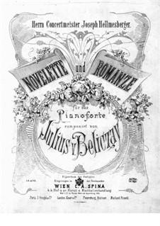 Novelette and Romance, Op.2: Novelette and Romance by Gyula Beliczay