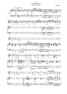 Samson, HWV 57: Total eclipce by Georg Friedrich Händel