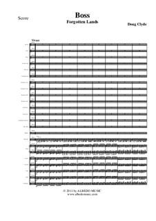 Forgotten Lands: Boss (Full Orchestra), AMSM41 by Doug Clyde