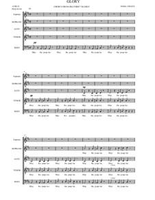 Glory for Choir a capella: Glory for Choir a capella by Neria Cepaite