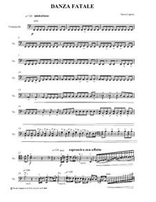 Danza Fatale for Cello Solo: Danza Fatale for Cello Solo by Neria Cepaite