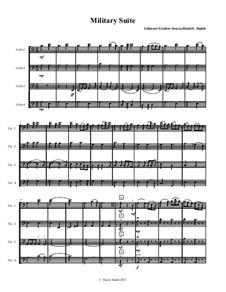 Military Suite for mixed-level cello quartet (or cello ensemble) Sousa, Caissons, Johnny comes marching home: Military Suite for mixed-level cello quartet (or cello ensemble) Sousa, Caissons, Johnny comes marching home by John Philip Sousa, Gustav Holst, Patrick Sarsfield Gilmore