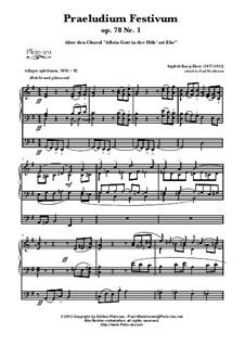 Allein Gott in der Höh' sei Ehr' & Grande Marche, Op.78 No.1: Allein Gott in der Höh' sei Ehr' & Grande Marche by Sigfrid Karg-Elert, Samuel Brenton Whithney