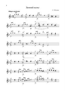 Winter Waltz: Winter Waltz by Sergej Kolgan