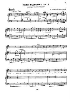 Sadko. Opera: Song of India by Nikolai Rimsky-Korsakov