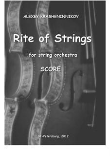 Rite of Strings, Op.7: partitura completa by Alexey Krasheninnikov